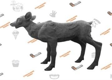 Рекламная фигура из пластика (макет в глине)