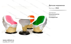 комплект мебели для летнего кафе