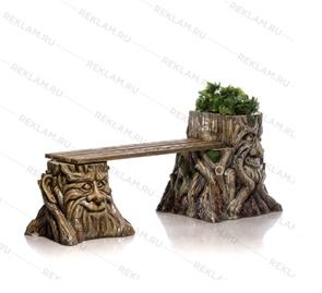 Декоративная скамейка