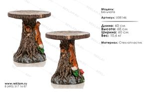 мебель из стеклопластика для детского кафе U08146