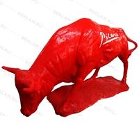 рекламный бык из пластика