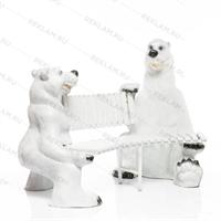 детская скамейка мишки