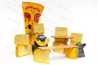 большие муляжи сыра