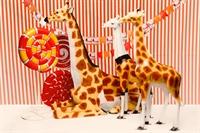 объемные фигуры цирковых животных