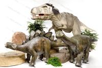рекламные фигуры динозавров