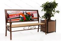 рекламная уличная мебель