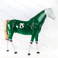 объемная фигура конь в футбольном стиле