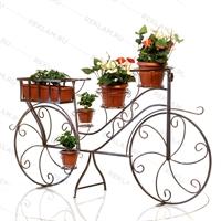 рекламная подставка под цветы велосипед