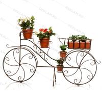 большая цветочная подставка велосипед