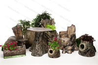 комплект мебели в эко-стиле