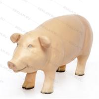 рекламная фигура свиньи из стеклопластика