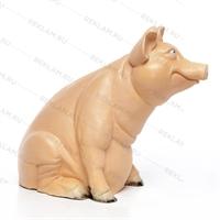 объемная рекламная фигура свиньи