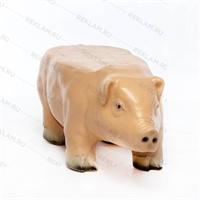 рекламная фигура свиньи