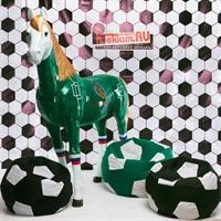 мягкие кресла для кафе футбольный мяч
