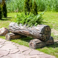 декоративное кашпо под дерево