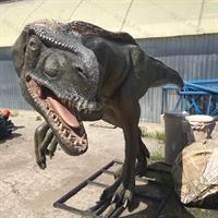 Скульптура динозавра Эотираннус