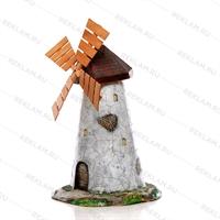 Декоративные мельницы из дерева фото