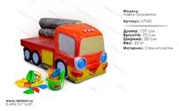 мебель из полистоуна детская лавка грузовичок 07530
