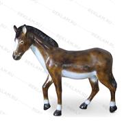 рекламная фигура лошади из пластика