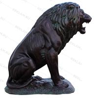 бронзовая фигура льва купить