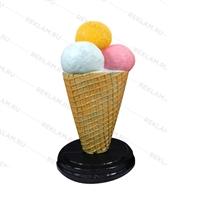 большой рекламный стоппер мороженое