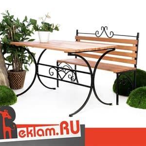 Скамейки для кафе и ресторанов