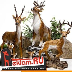 Фигуры из пластика Зоопарк