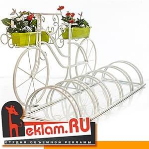 Велопарковки спираль