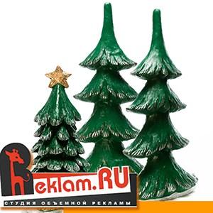 Пластиковые елки