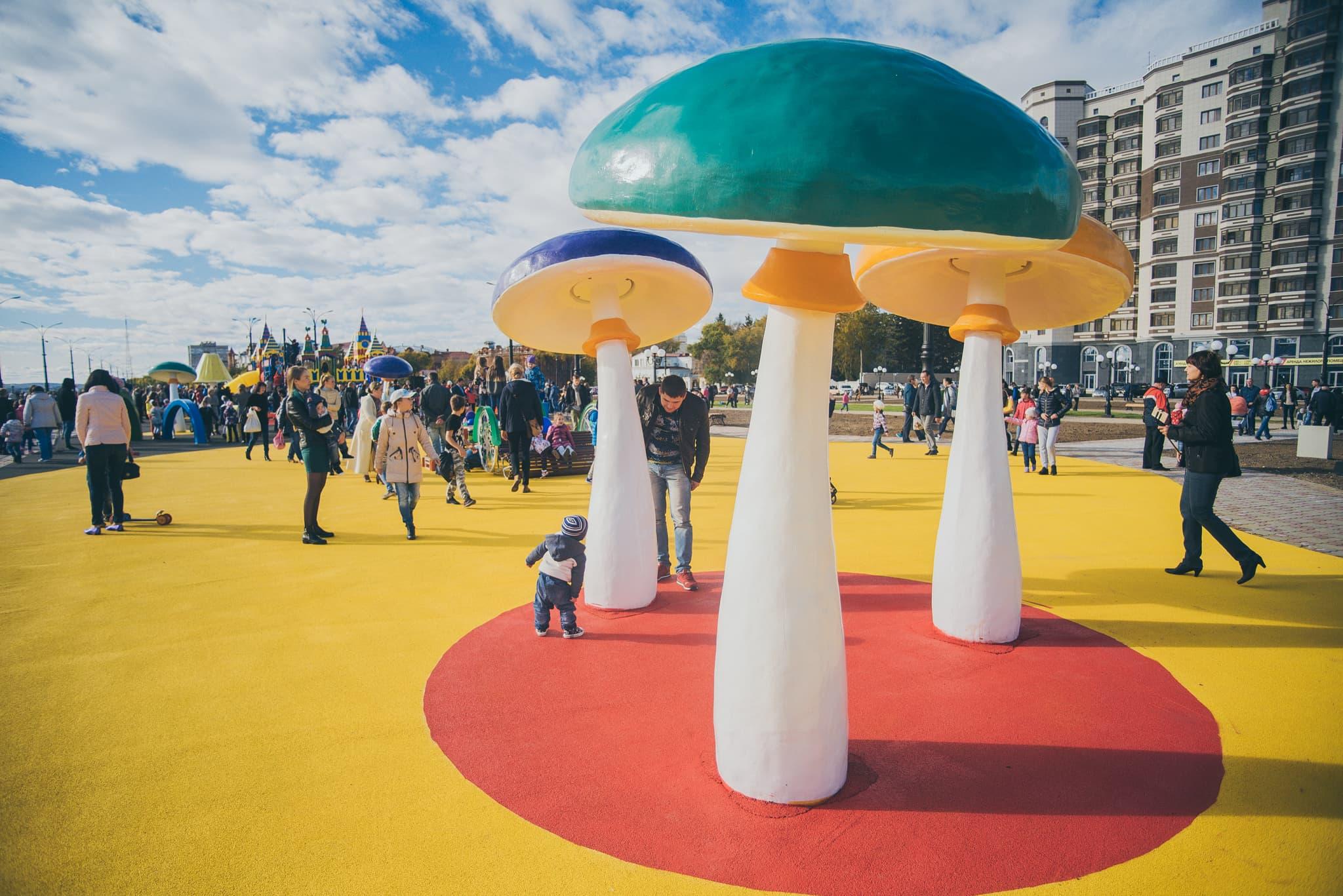 Ростовая фигура Гриб для детской площадки
