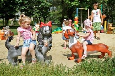 Декор для детских площадок