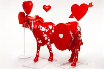 Быки и коровы —самые популярные рекламные фигуры