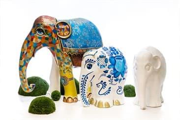 Слоновьи арт-объекты - тяжелая артиллерия легкой рекламы