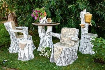 Уличная мебель от студии Реклам.ру - Комплект Берёзка