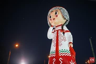 Фигуры ко дню города Чебоксары