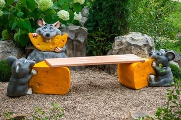 Скамейки для детской площадки