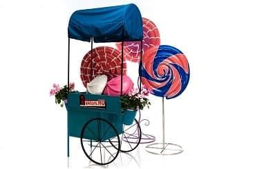 Декоративная телега - торгово выставочное оборудование