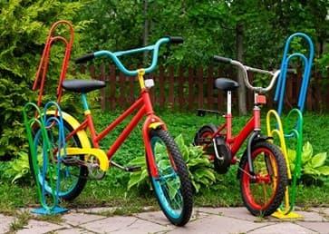 Детские велопарковки. НОВИНКИ