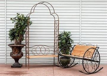 Кресла качалки — выбираем для сада и дачи