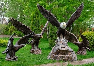 Фигуры птиц для кафе и ресторанов