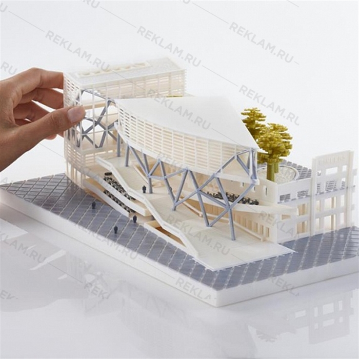 изготовление архитектурных макетов на заказ