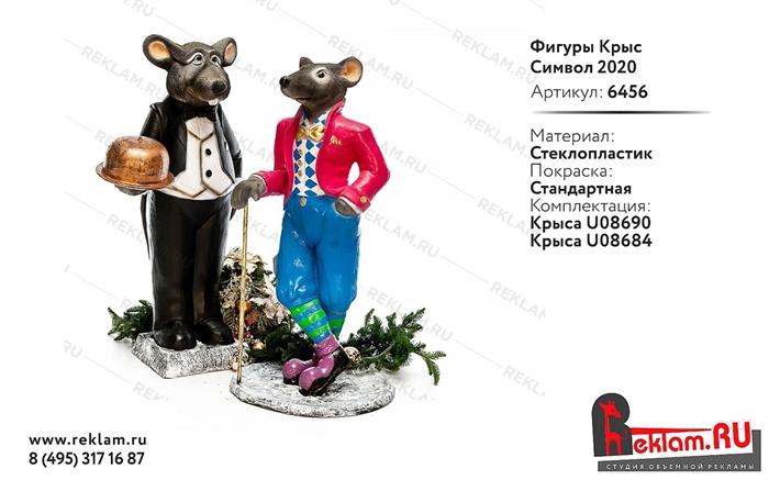 Новогодние фигуры Крысы
