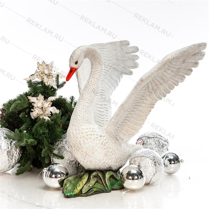 Новогодняя фигура Лебедь