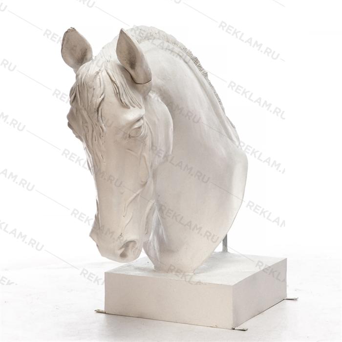 Манекен голова лошади Орловский рысак - фото 20799