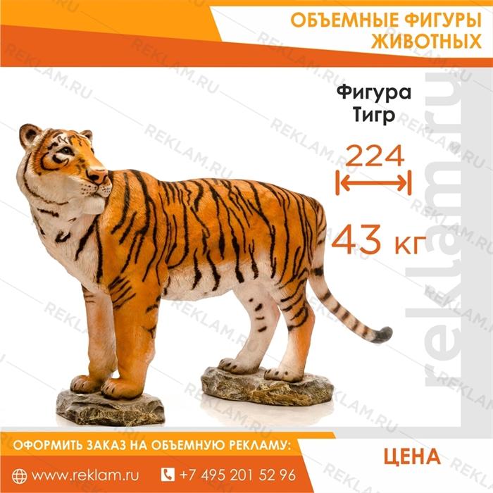 Объемная фигура Тигр Амурский