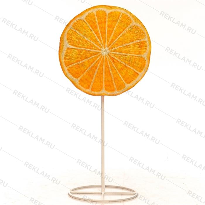Рекламный стоппер Леденец апельсиновый