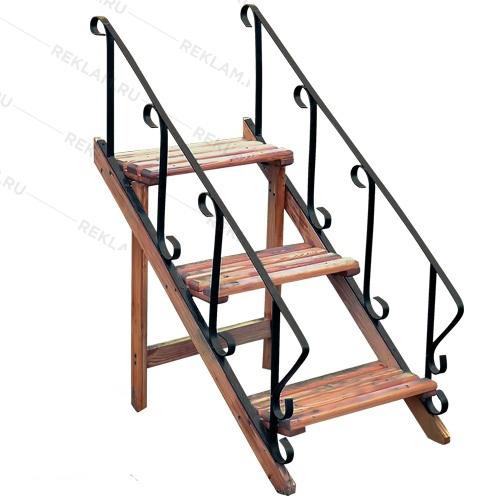Подставка Зеленая лестница - фото 5941