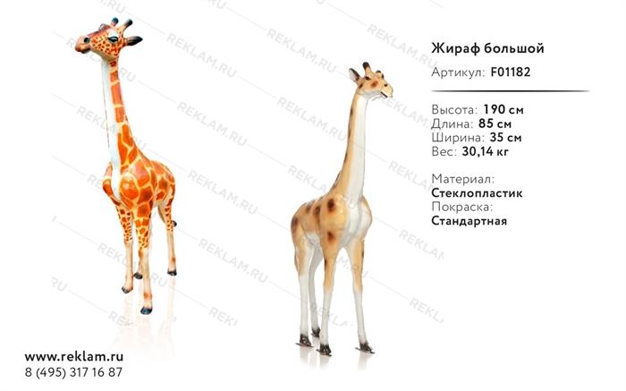 Ростовая фигура Жираф