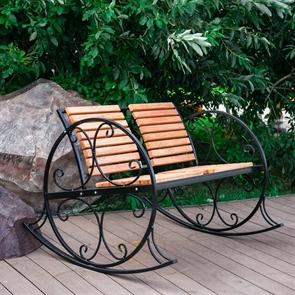кресло-качалка парковая