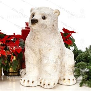 Фигура Медвежонок, стеклопластик, 59 см.